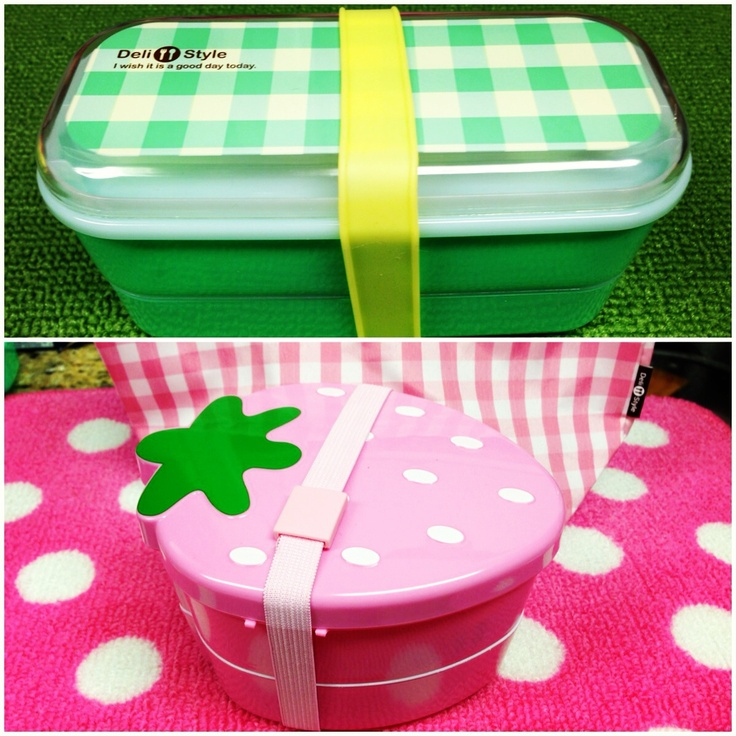 Bento boxes for DAVID & LINDSEY from Daiso