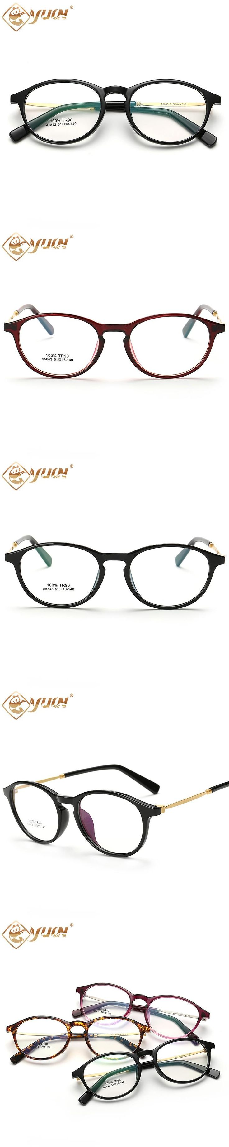 High quality TR90 glasses frame eyewear clear lens eyeglasses optical unisex computer glasses 5843