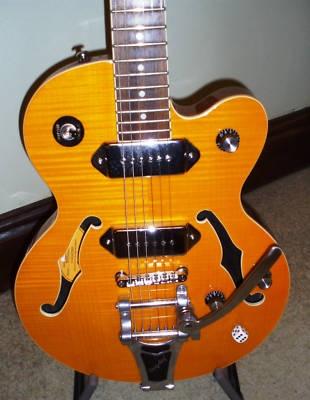 Epiphone Wildkat Semi Acoustic Guitar Bigsby Trem P90