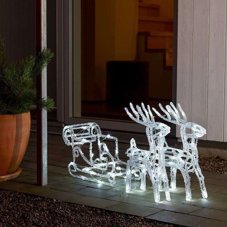 Weihnachtsdeko Rentiere