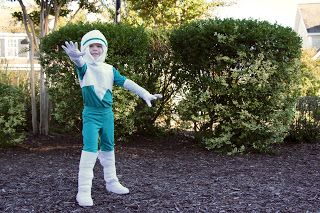 Frozone Costume - The Incredibles