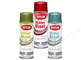 Craft Product Review: Krylon Glitter Blast Spray Paint | Craft Test Dummies