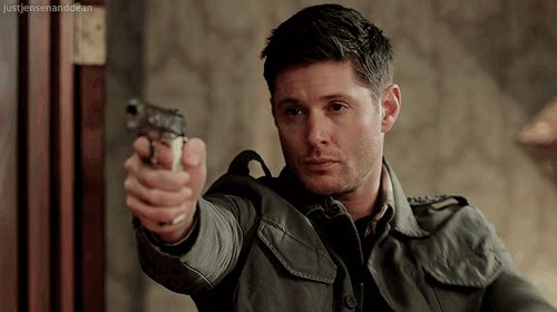 "Witch: ""Go ahead, that won't do anything.""  Dean: *Holds up sticky note & shoots her dead.*"