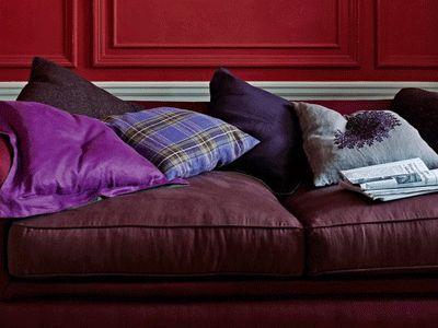 vintage-wine-color-home-furnishings-sofa-cushions