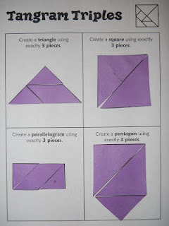 Free tangram challenges