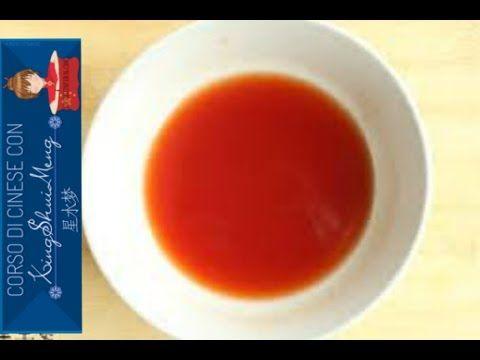(24) Salsa agrodolce CINESE Ricetta - YouTube