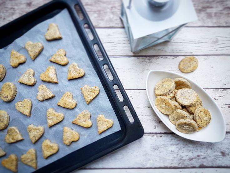 Slané makové sušenky – Recepty z postele