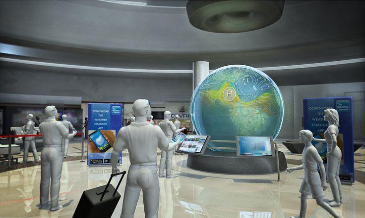https://flic.kr/p/CbMkz3   Airport Globe Interactive 1   Airport Interactive Globe Experiential Marketing Concept