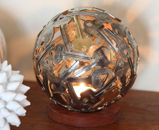 Recycled Metal Light Fixtures for your Home Keys