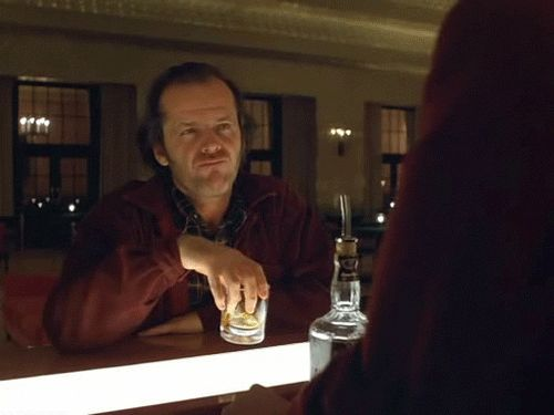 The Top 10 Gifs of Jack Nicholson From Shining | Movies | Awesomenator - Super Hero of the Internets