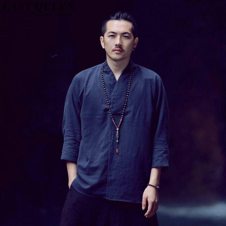 Mens abbigliamento oriental tradizionale cinese abbigliamento tradizionale…