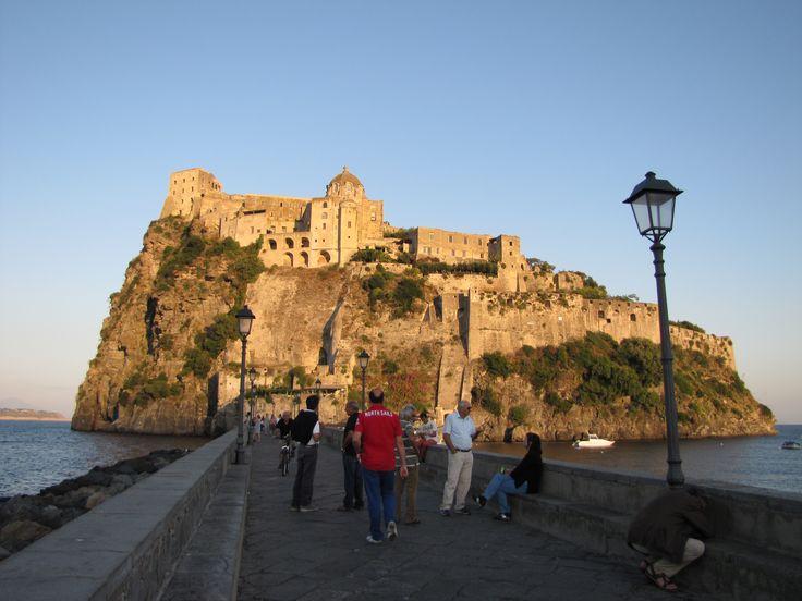Castello Aragonese, Isle of Ischia, Italy Castle