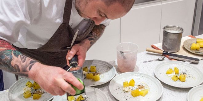 #MODEeats Michelin trained chef Alex Bond is planning to open his own restaurant! Book us in please