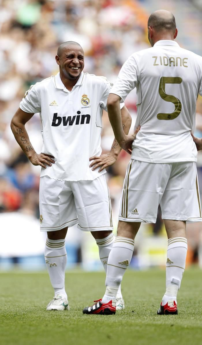 Roberto Carlos and Zidane