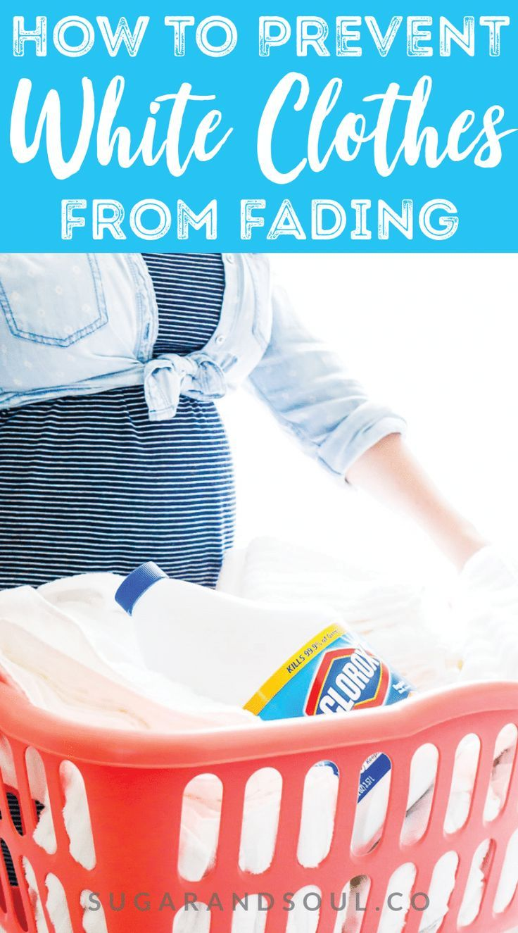 Want To Know How To Prevent Whites From Fading From Treating Stains To How To Wash Them On A Regular Basis F Treating Stains Cleaning Clothes Washing Clothes