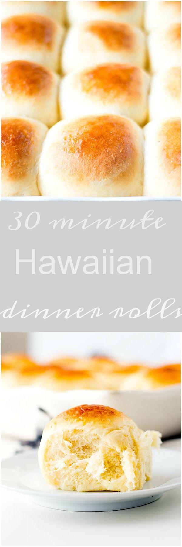 30 minute hawaiian rolls