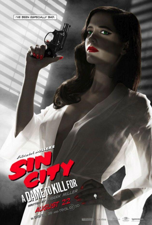 Sin City 2 : Eva Green réagit à la censure de son affiche - AlloCiné