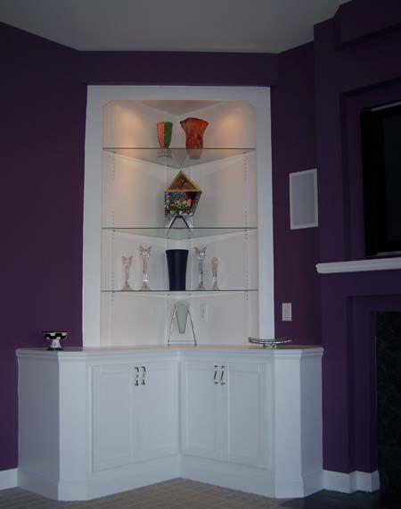 Built In Corner Tv Cabinets