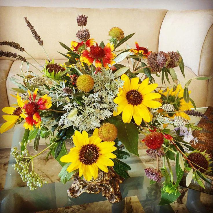 Diseñando con flores silvestres / 100% Rancho Buenos Aires #naturelover #amantedelanaturaleza #summerflowers #wildflowers #florsilvestre #verano #flores #flowers #flowersmakemehappy #amolasflores #enjoyinglife #disfrutando #lunes #sunflower #girasol