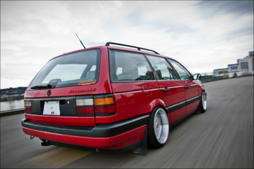 Slammed VW Passat Wagon | passat stationwagon vw wagon stance vw volkswagen borbet