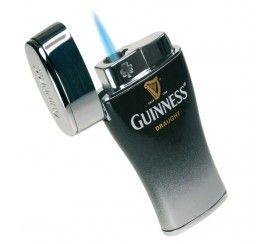 Guinness Wind Proof Lighter, Silver Pint Shape