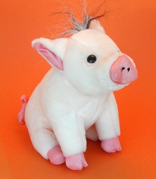 Stuffed Babe Piggy (010002)