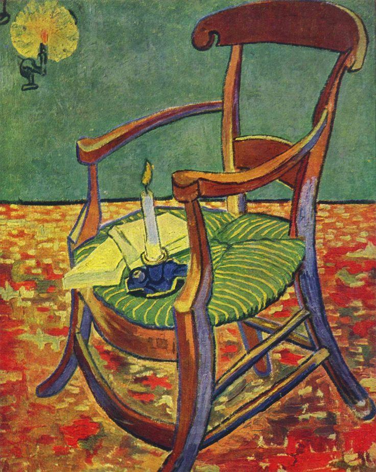 La sedia di Gauguin (opera di Van Gogh) Storia e breve analisi del celebre quadro.