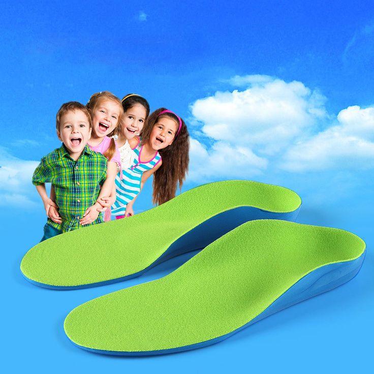 Kids Kinderen Orthopedische Inlegzolen voor Kinderen Schoenen Platte Voet Ondersteuning Orthopedische Pads Correctie Gezondheid Voeten Zorg Binnenzool
