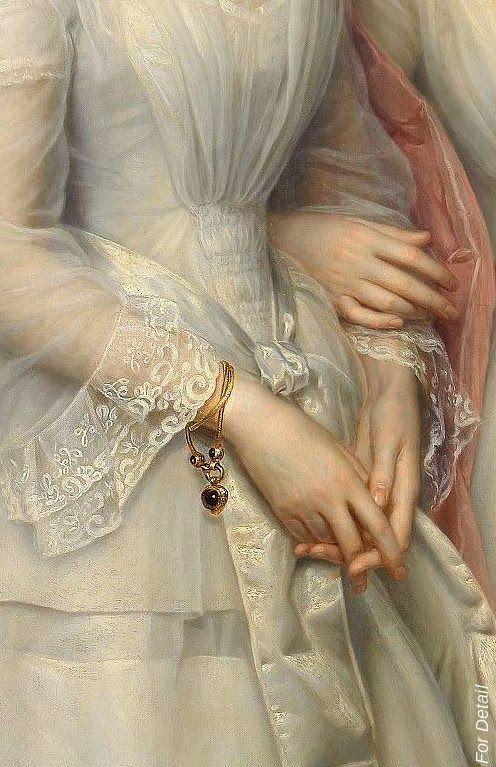#ArtDetail Bracelets in Paintings.