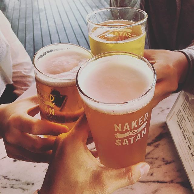 #Melbourne#nakedforsatan#beer#friday#fridaynight#cheers#iphone6s