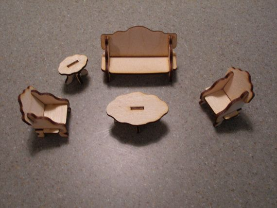 doll house living room furniture doll house by MLSLaserEngraving, $6.00