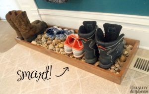 Shoe Tray For Front Door