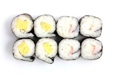 Rollo de sushi hosomaki