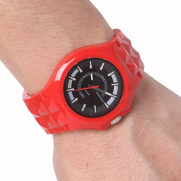 Diesel mens black dial analog quartz watches DZ1647 #Diesel #Watches #wristwatch