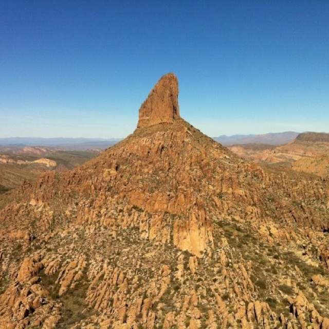 Weavers Needle...Peralta Trail, Superstition Mts...Arizona