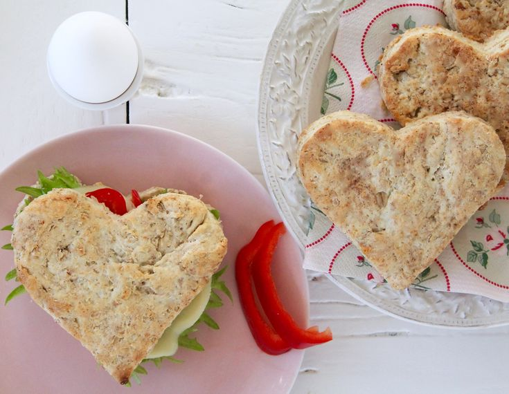 Tips på alla hjärtans dag frukost / brunch. Gör sötaste ♡ Sconesen