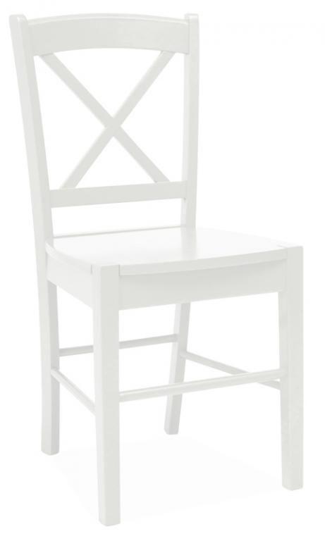 Krzesło krzesła drewniane CD-56 białe SIGNAL 48H