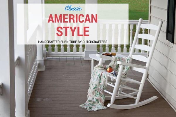 ... rocking chairs amish furniture rockers porches decor inspiration patio