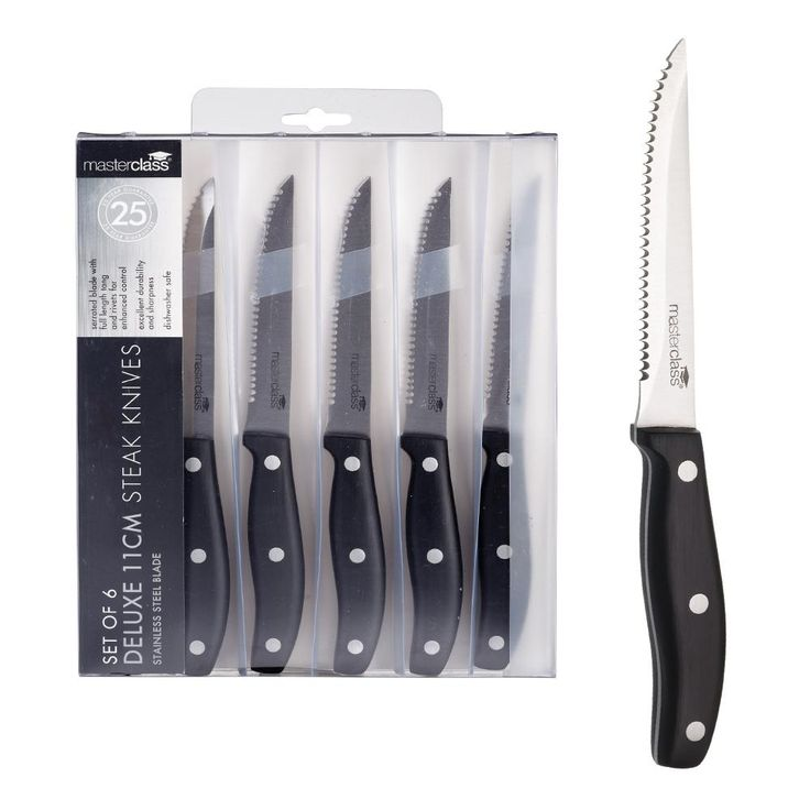 Deluxe Steak Knife Set