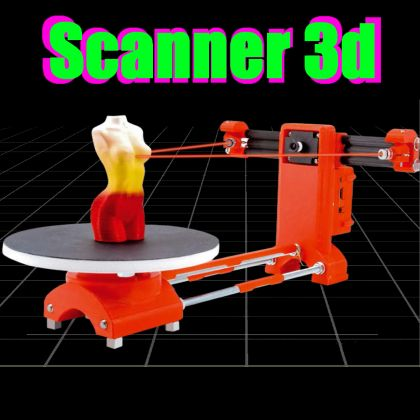 An open source 3D Scanner made with Raspberry Pi « Dangerous Prototypes