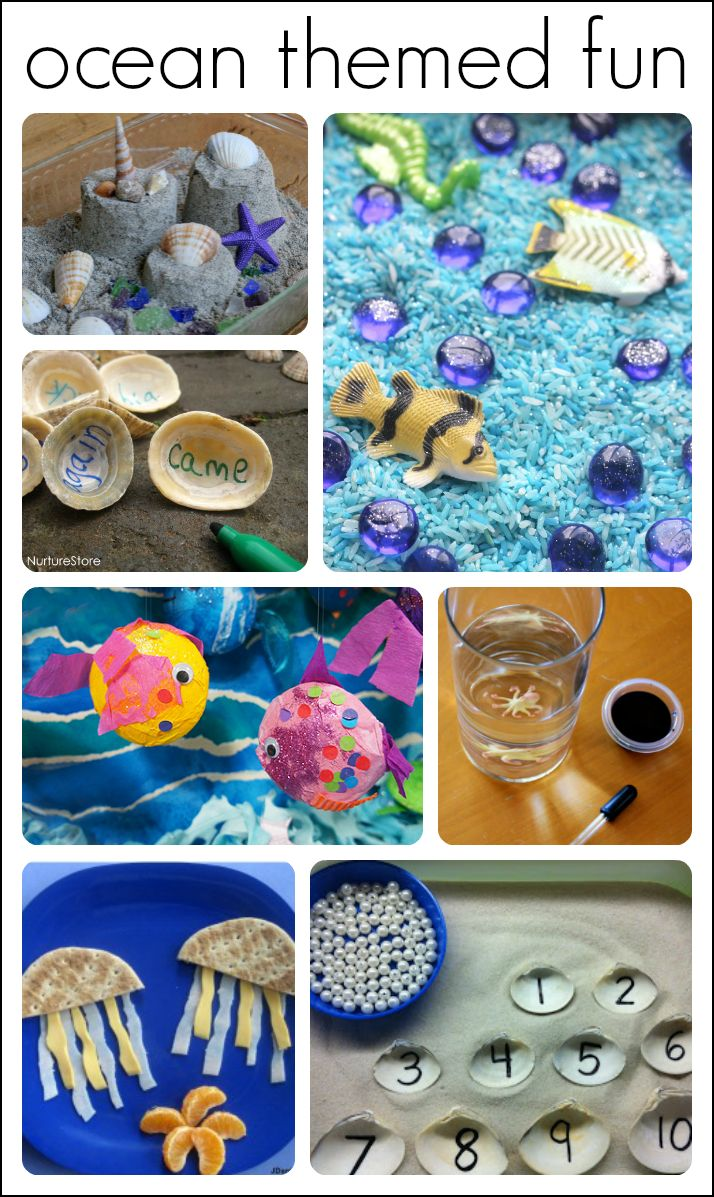 263 best images about ocean theme ideas for preschool and for Science arts and crafts