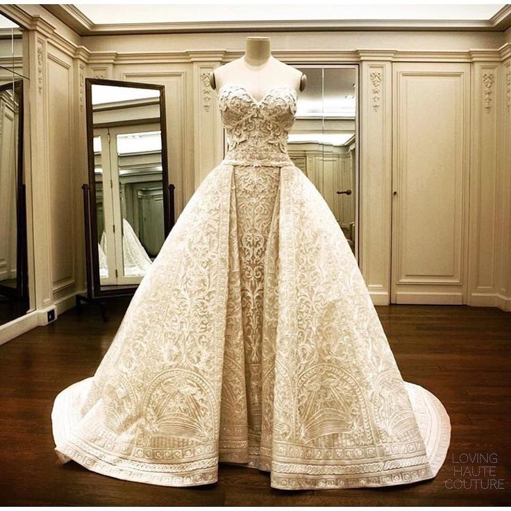 Sofia Vergara Wedding Gown  @zuhairmuradofficial by lovinghautecouture
