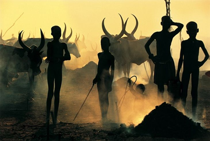Dinka of Southern Sudan photographed by world-renowned photographers Carol Beckwith and Angela Fisher