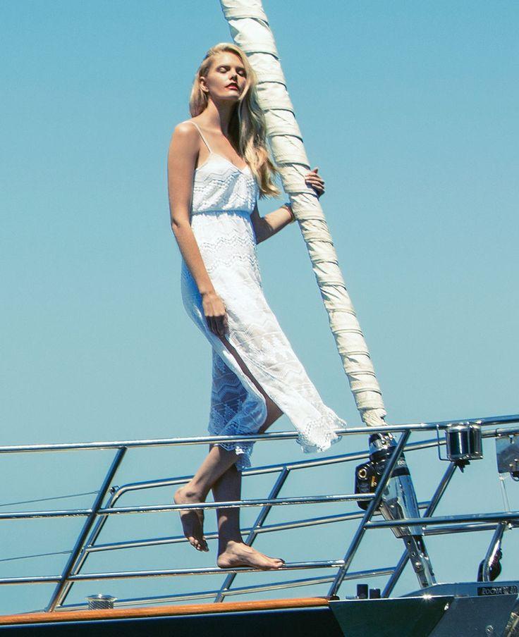 Tribe Split Maxi Dress - Bardot