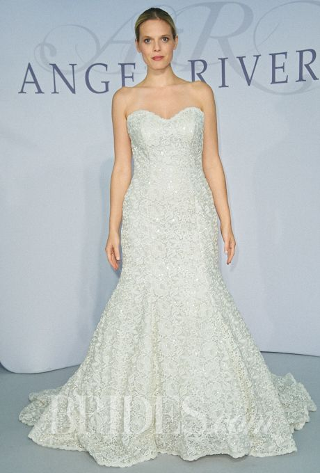 15 best Angel Rivera Lace images on Pinterest | Short wedding gowns ...