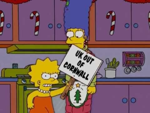 Simpsons Lisa speaking Cornish