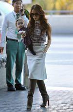 Виктория Бекхэм с малышкой Харпер Севен