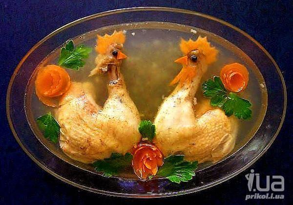 Как сделать Петуха из фруктов и овощей?