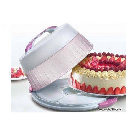 Thermo hordozható torta doboz   Édes Ízek - Torta dekoráció