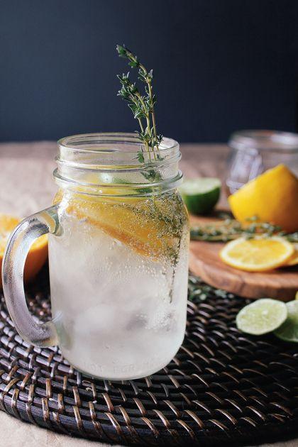 Citrus-Thyme-Cocktail | {drink} | Pinterest